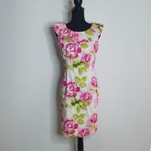 SARA CAMPBELL size 4 flower dress